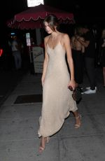 KAIA GERBER at Delilah in West Hollywood 09/25/2021