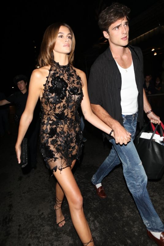 KAIA GERBER Heading to an Afterparty Post Met Gala 09/13/2021
