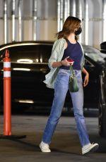 KAIA GERBER Heading to Erewhon Market in Los Angeles 09/19/2021