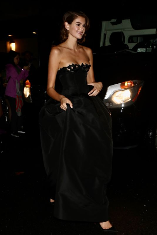 KAIA GERBER Returns to Her Hotel from Met Gala in New York 09/13/2021