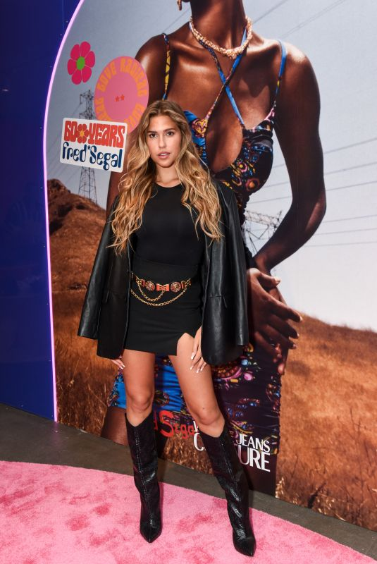 KARA DEL TORO at Versace Jeans Couture x Fred Segal Launch Event in West Hollywood 09/16/2021