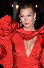 KARLIE KLOSS Heading to 2021 Met Gala in New York 09/13/2021