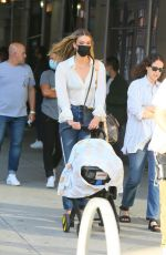 KARLIE KLOSS Out with her Baby in New York 09/10/2021