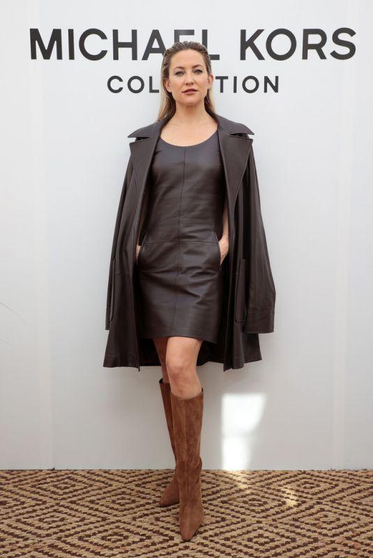 KATE HUDSON at Michael Kors Show at New York Fashion Week 09/10/2021