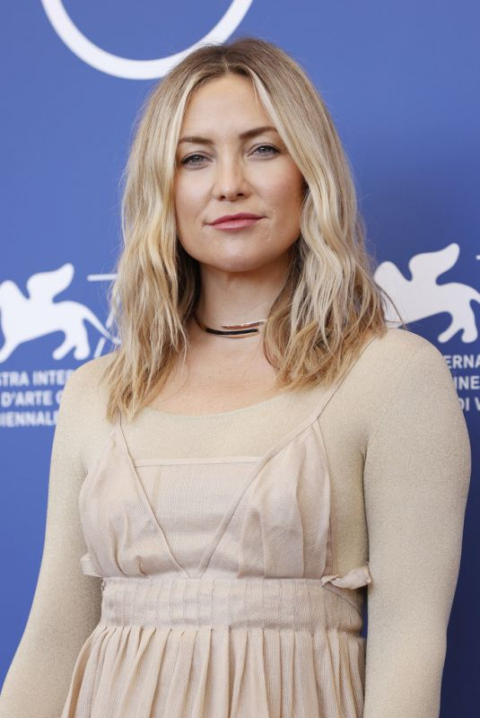 KATE HUDSON at Mona Lisa and the Blood Moon Photocall at 2021 Venice Film Festival 09/05/2021