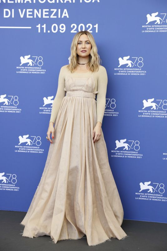 KATE HUDSON at Mona Lisa and the Blood Moon Photocall at Venice Film Festival 09/05/2021