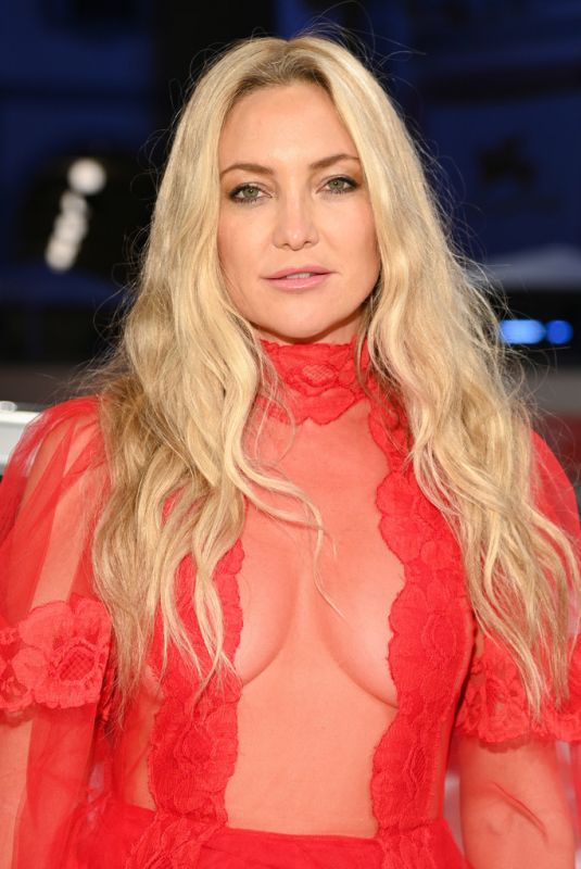 KATE HUDSON at Mona Lisa and the Blood Moon Premiere at 2021 Venice Film Festival 09/05/2021