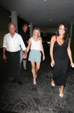 KATE WALSH and KELSEY GRAMMER at E-Baldi in Beverly Hills 09/08/2021