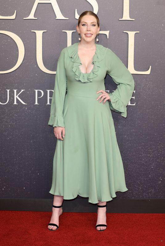 KATHERINE RYAN at Last Duel Premiere in London 09/23/2021