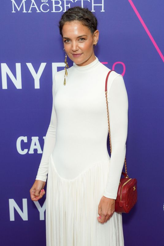 KATIE HOLMES at The Tragedy Of Macbeth Screening in New York 09/24/2021