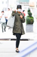 KATIE HOLMES Out in New York 09/16/2021