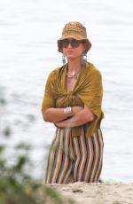 KATY PERRY Out at a Beach in Santa Barbara 08/31/2021