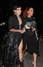 KEHLANI and JORJA SMITH at British Vogue and Tiffany & Co Celebrate Fashion and Film in London 09/20/2021