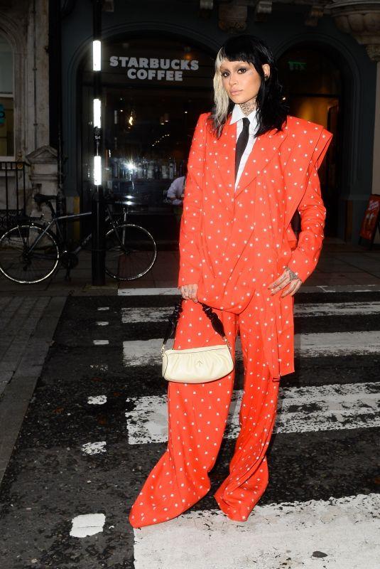 KEHLANI Out at London Fashion Week 09/19/2021