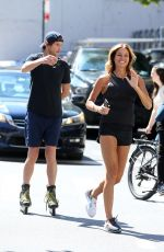 KELLY BENSIMON and Nicholas Stefanov Out in New York 09/06/2021