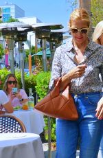 KELLY RUTHERFORD Out with Her Mother in Los Angeles 08/30/2021