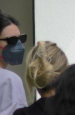 KENDALL JENNER Grabs Snacks Before a Forma Pilates Class in West Hollywood 09/28/2021