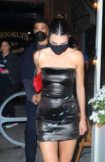 KENDALL JENNER Heading to a Fashion Party in New York 09/09/2021