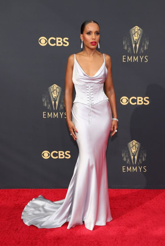 KERRY WASHINGTON at 73rd Primetime Emmy Awards in Los Angeles 09/19/2021