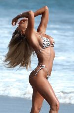 KHLOE TERAE and JENI SUMMERS in Bikinis for 138 Water Photoshoot in Malibu 09/19/2021