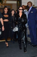 KIM KARDASHIAN and LALA ANTHONY Night Out in New York 09/11/2021