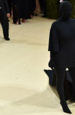 KIM KARDASHIAN at 2021 Met Gala in New York 09/13/2021
