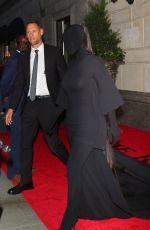 KIM KARDASHIAN Heading to 2021 Met Gala in New York 09/13/2021