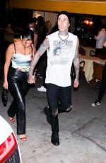 KOURTNEY KARDASHIAN Out at MTV WMAs Dinner in New York 09/12/2021