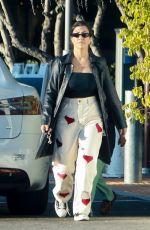 KOUTNEY KARDASHIAN Arrives at Topanga Mall in Los Angeles 09/15/2021