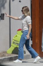 KRISTEN BELL Out and About in Los Feliz 09/07/2021