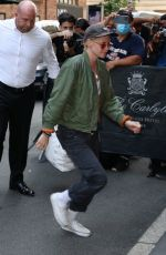 KRISTEN STEWART Arrives at Carlyle Hotel in New York 09/13/2021