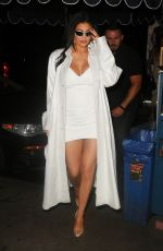 KYLIE JENNER Night Out in New York 09/08/2021