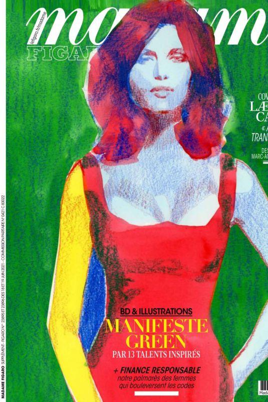 LAETITIA CASTA in Madame Figaro Magazine, June 2021