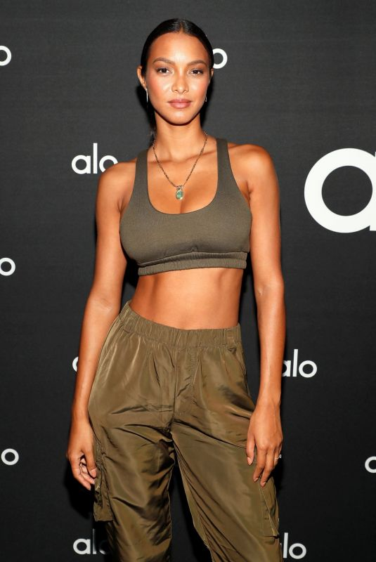 LAIS RIBEIRO at Alo Wellness Department Dinner in New York 09/09/2021