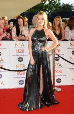 LAURA WHITMORE at National Television Awards 2021 at O2 Arena in London 09/09/2021