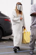 LEANN RIMES Arrives at Dancing With The Stars Rehearsal in Hollywood 08/31/2021