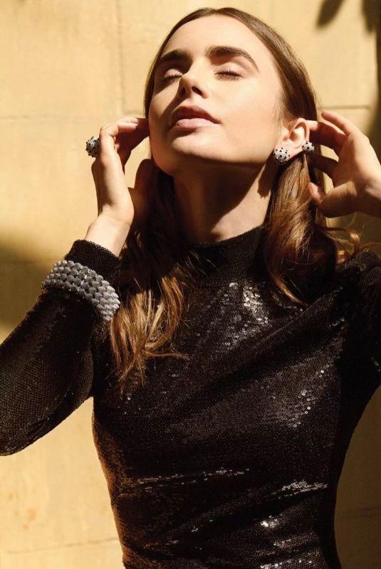LILY COLLINS for Elle Magazine, September 2021
