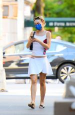 LILY-ROSE DEPP Out and About in New York 09/19/2021