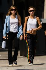 LILY-ROSE DEPP Out in New York 09/14/2021
