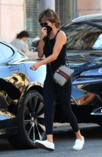 LISA RINNA Out Shopping at Alo Store in Beverly Hills 09/07/2021