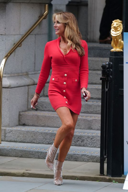 LIZZIE CUNDY at Law Society in London 08/31/2021