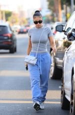 LORI HARVEY Out and About in West Hollywood 09/20/2021