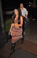 LOURDES LEON Arrives at Her Hotel in Milan 09/24/2021