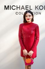 LUCY HALE at Michael Kors Fashion Show in New York 09/10/2021
