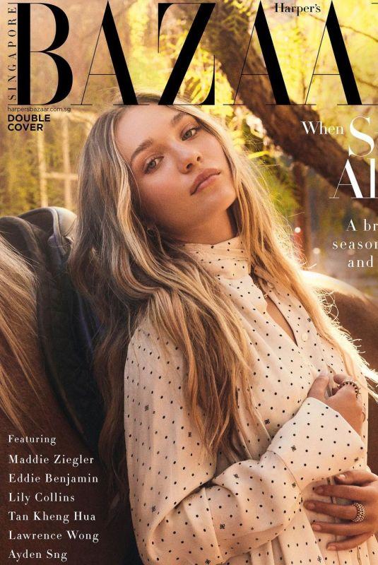 MADDIE ZIEGLER for Harper's Bazaar Magazine, September 2021