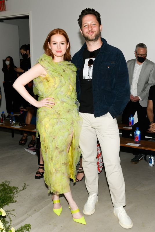 MADELAINE PETSCH at Jason Wu Fashion Show at NYFW in New York 09/10/2021