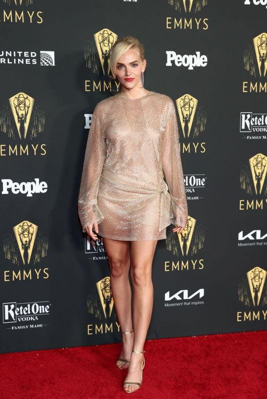 MADELINE BREWER at Television Academy's Reception to Honor 73rd Emmy Award Nominees in Los Angeles 09/17/2021