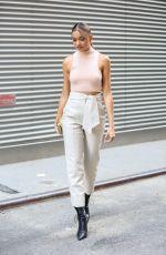 MADISON BAILEY at Jonathan Simkhai Fashion Show at NYFW in New York City 09/11/2021