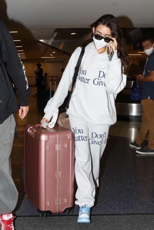 MADISON BEER at Los Angeles International Airport 09/15/2021