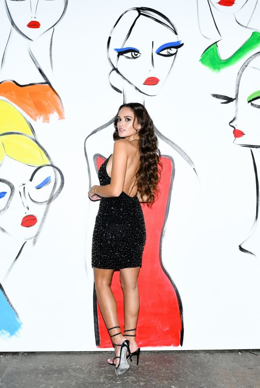 MADISON PETTIS at Alice + Olivia by Stacey Bendet SS22 Presentation in New York 09/10/2021